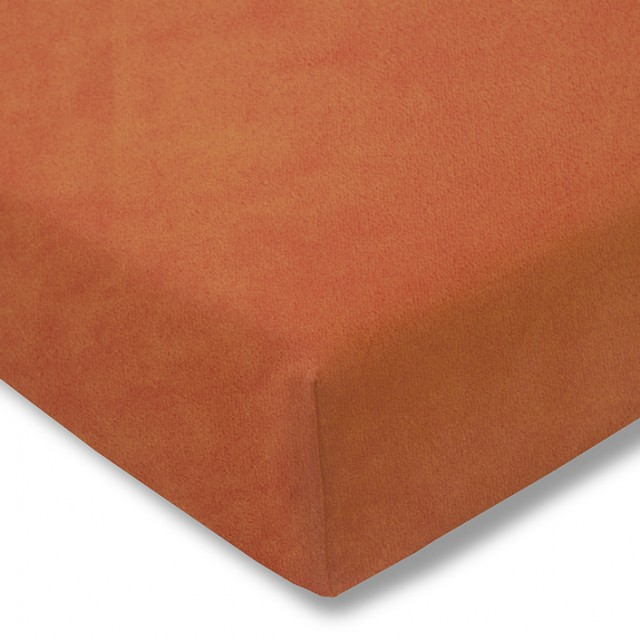Zwirnjersey Topper terracotta Exquisit
